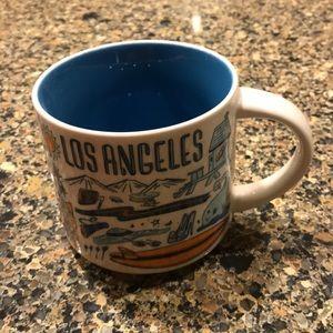 Been there series Starbucks LA mug